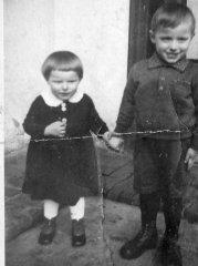 1946 r. p.Hildegarda i Rafał Wallach