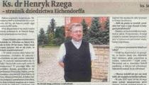 Ks. dr Henryk Rzega