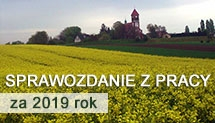 Rada Sołecka wsi Łubowice – sprawozdanie z pracy za 2019 rok