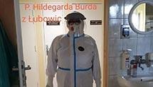 Pani Hildegarda Burda - pielęgniarka z Łubowic